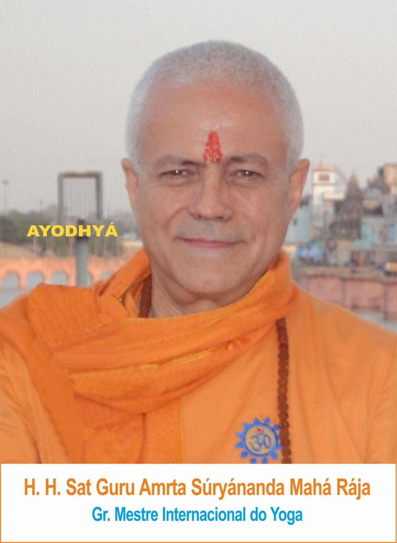 Yoga Guru Amrta Súryánanda Mahá Ràja