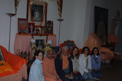 Visita Svámin Chidananda
