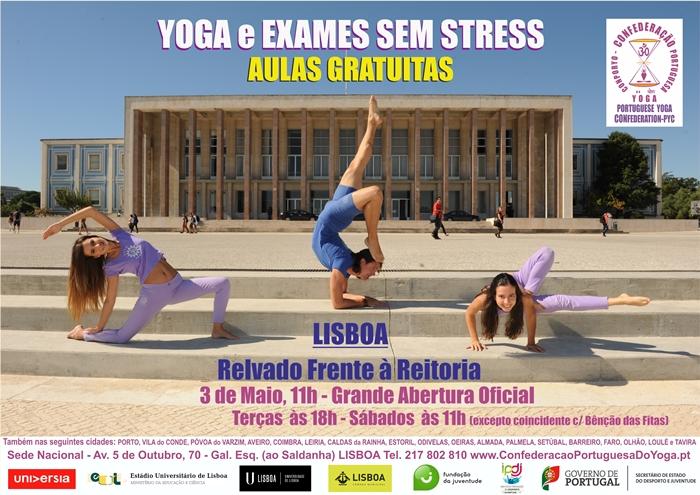 Yoga e Exames sem stress 2014